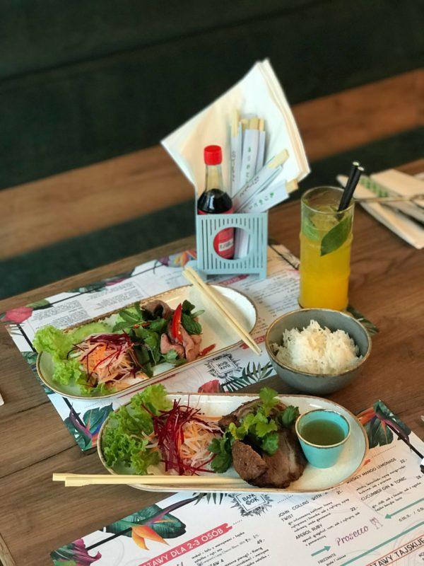 Bankcook Azjatycka Restauracja Na świętym Marcinie Foodie