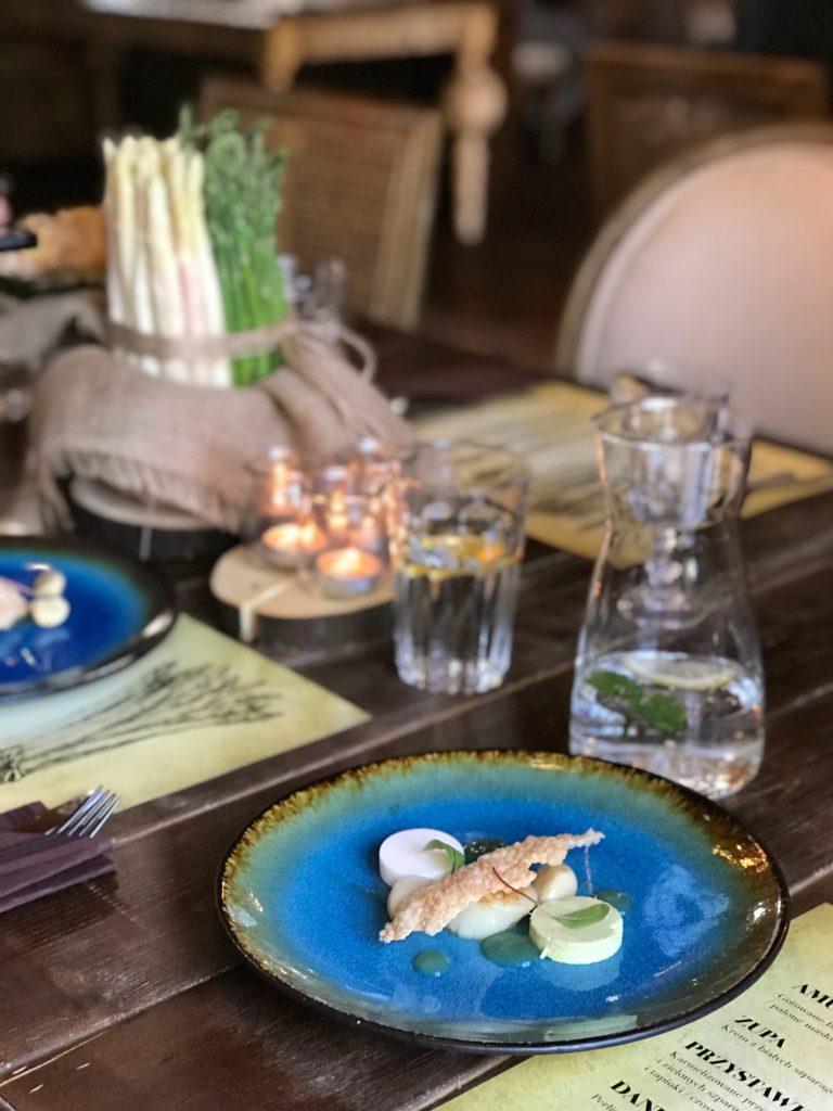 kolacja degustacyjna Za Murem