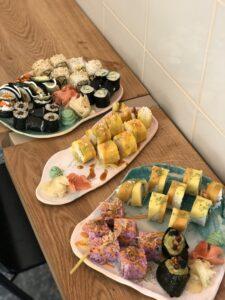 CUDO vegan sushi poprawia humor na kolorowo